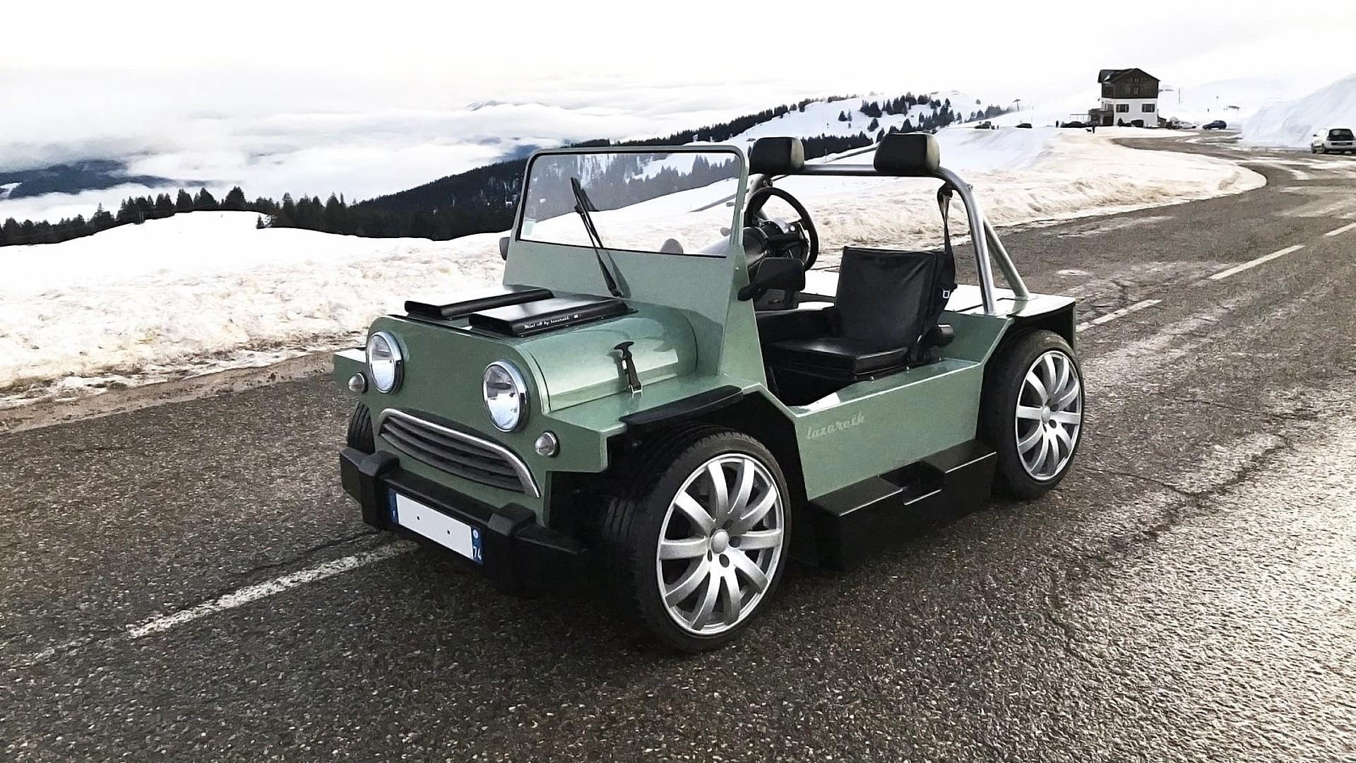 Το Mini V8 M της Lazareth είναι ένας από τους πιο περίεργους τρόπους να ξοδέψεις 140.000 ευρώ.